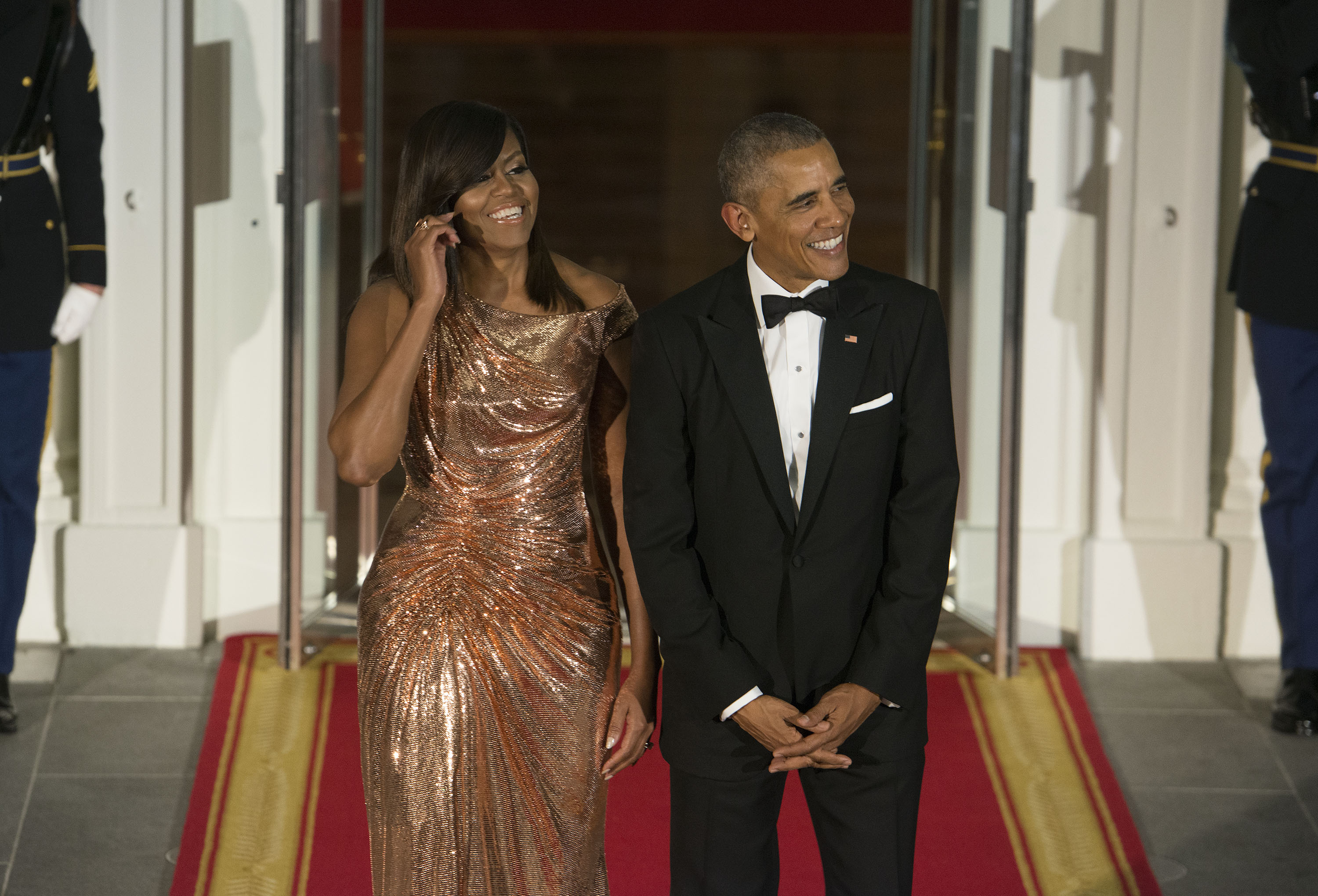 Michelle obama, estilo, Barack Obama