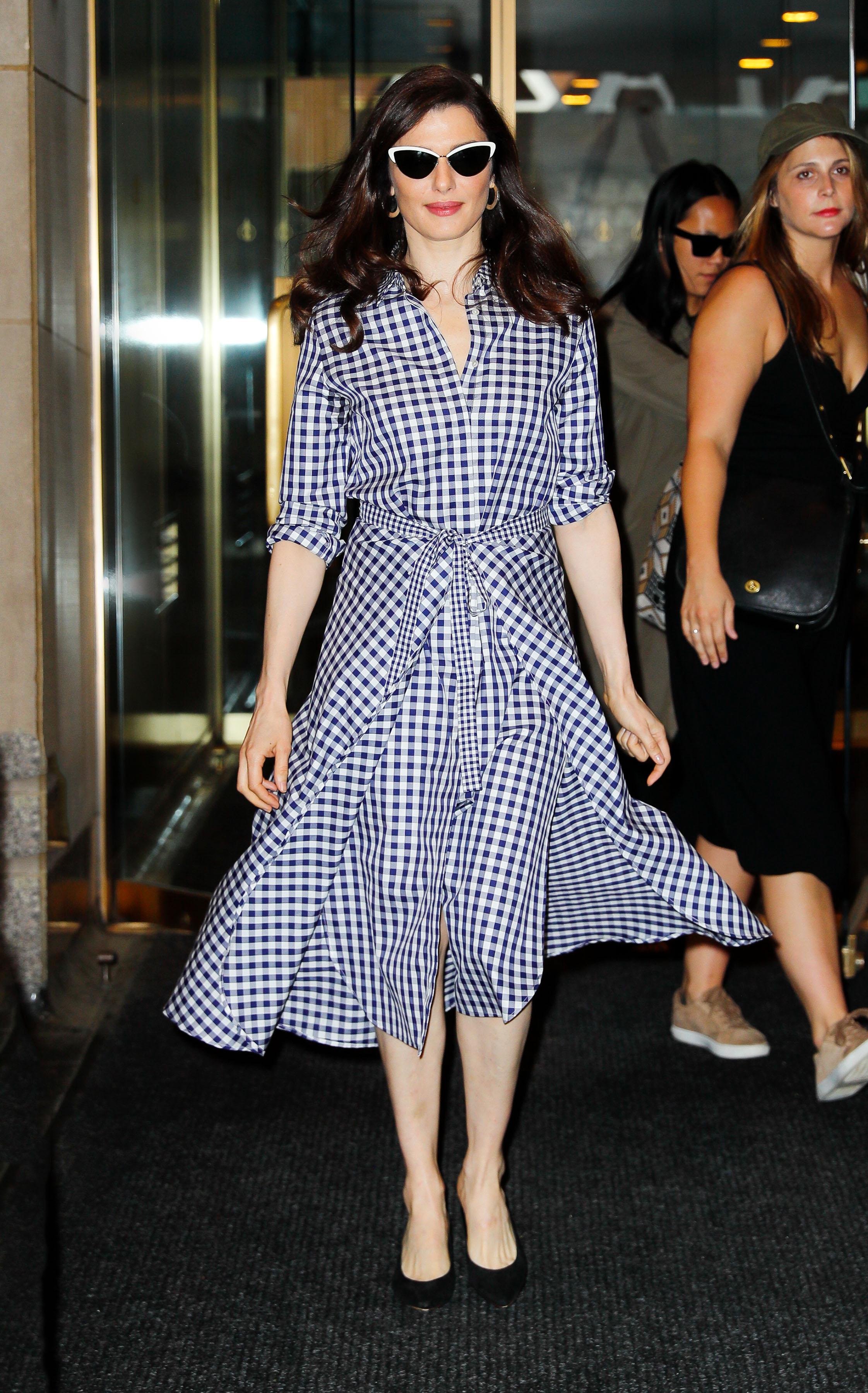 Celebrity Sightings in New York City - June 1, 2017