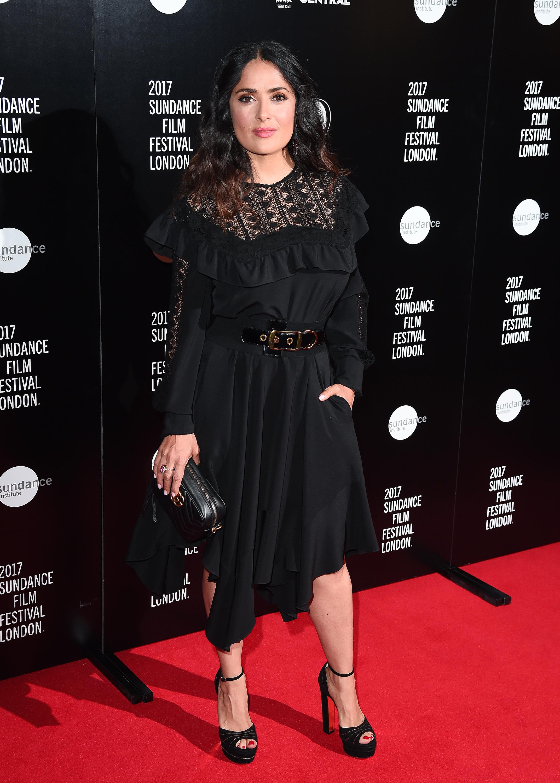 Salma Hayek, look, style, estilo