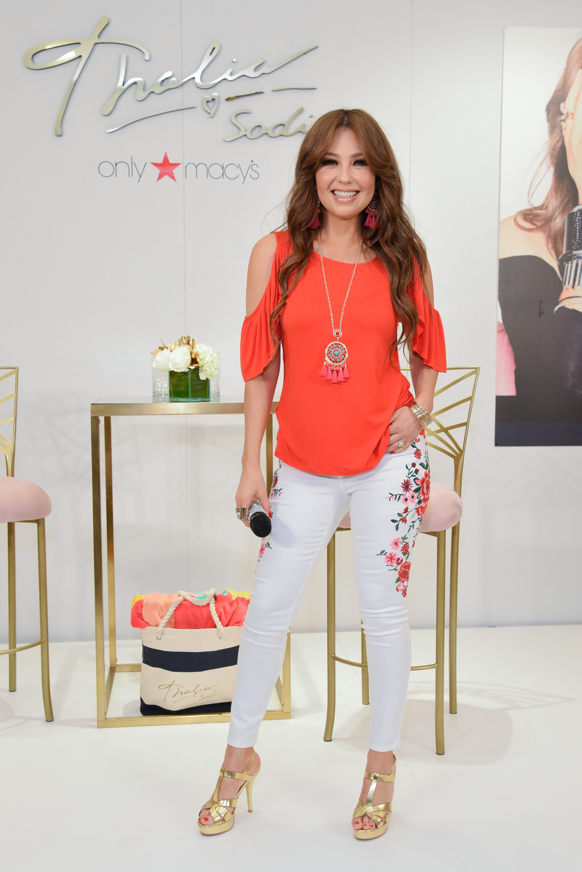 Thalia, look, estilo, thalia sodi collection, Macys