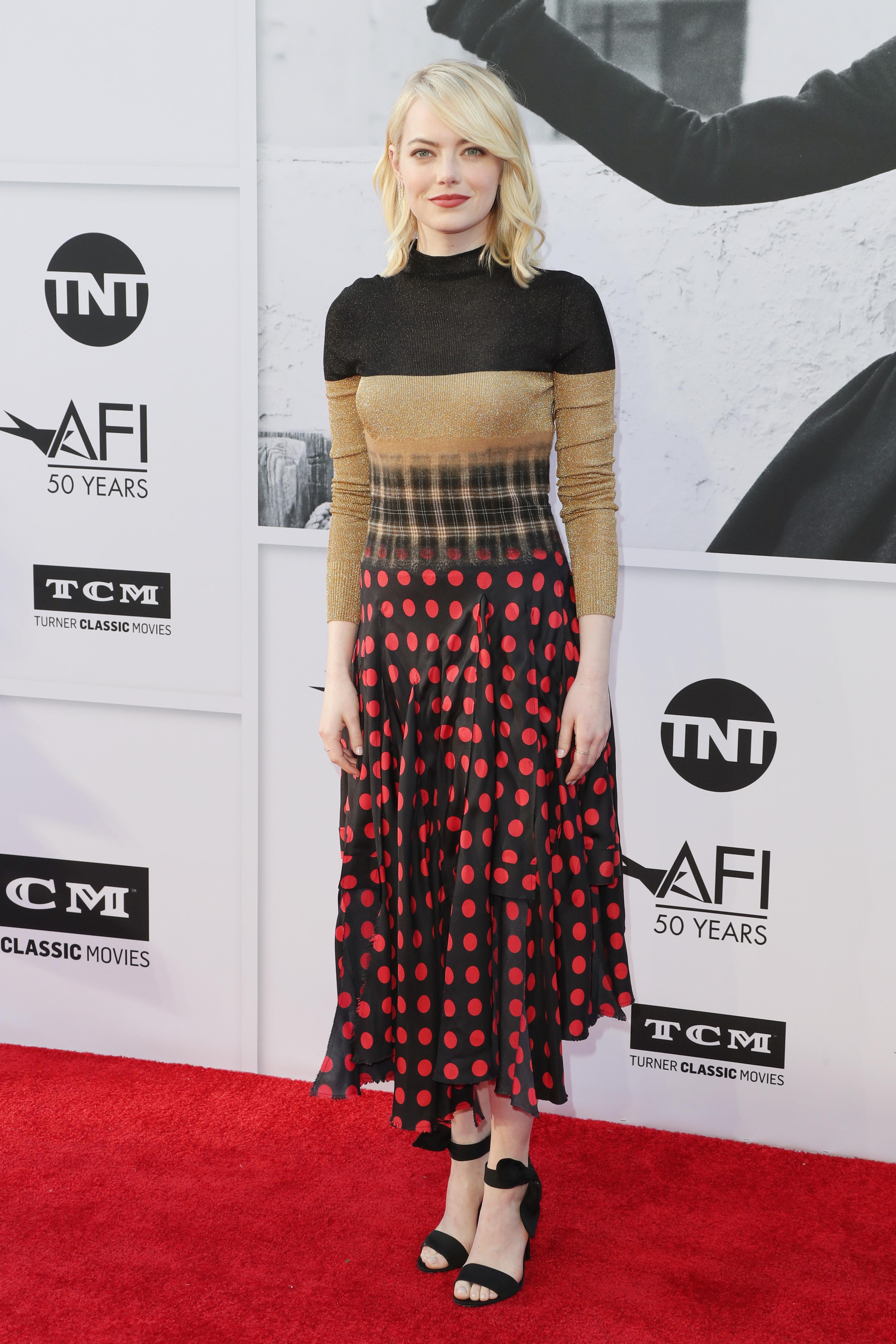 Emma Stone, look, estilo, style, Loewe
