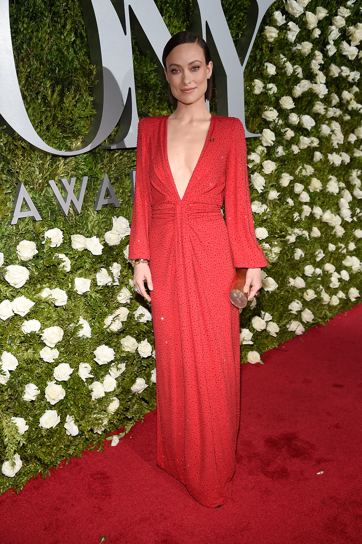 Olivia Wilde, Style, look, Tony Awards
