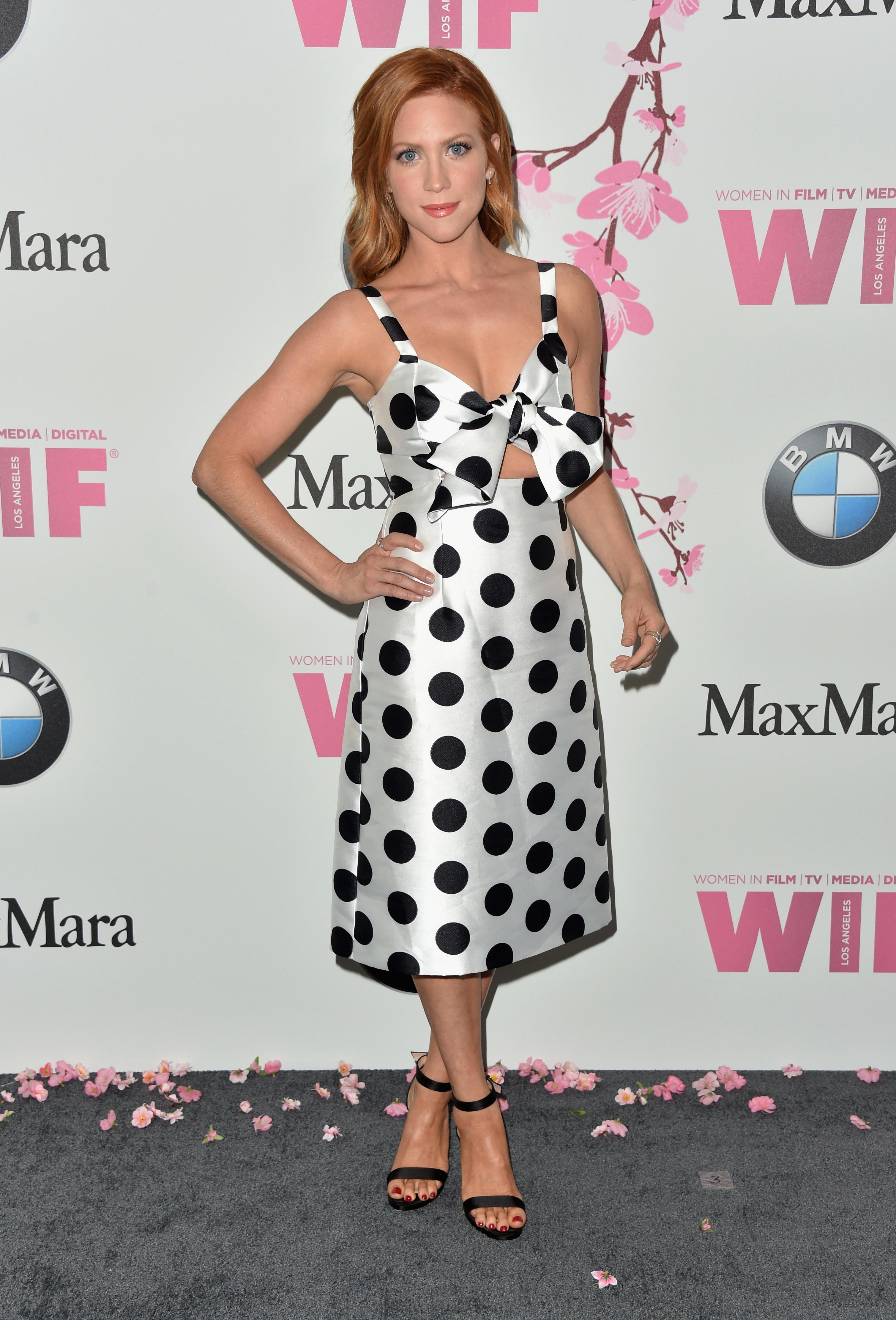 Brittany Snow, look, style, estilo