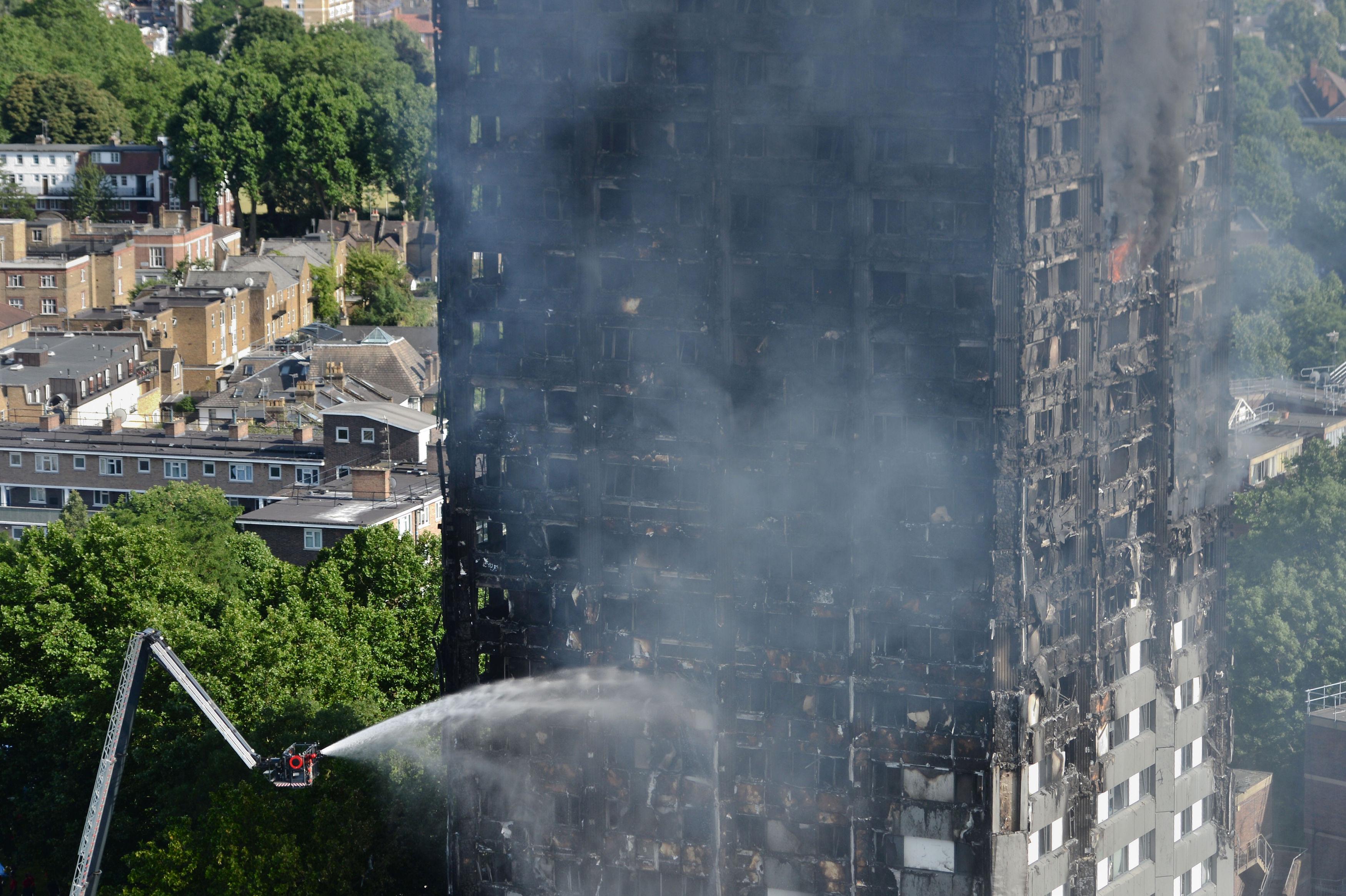 Incendio en Londres.