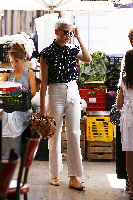 Michelle Williams, look, style, estilo, roma