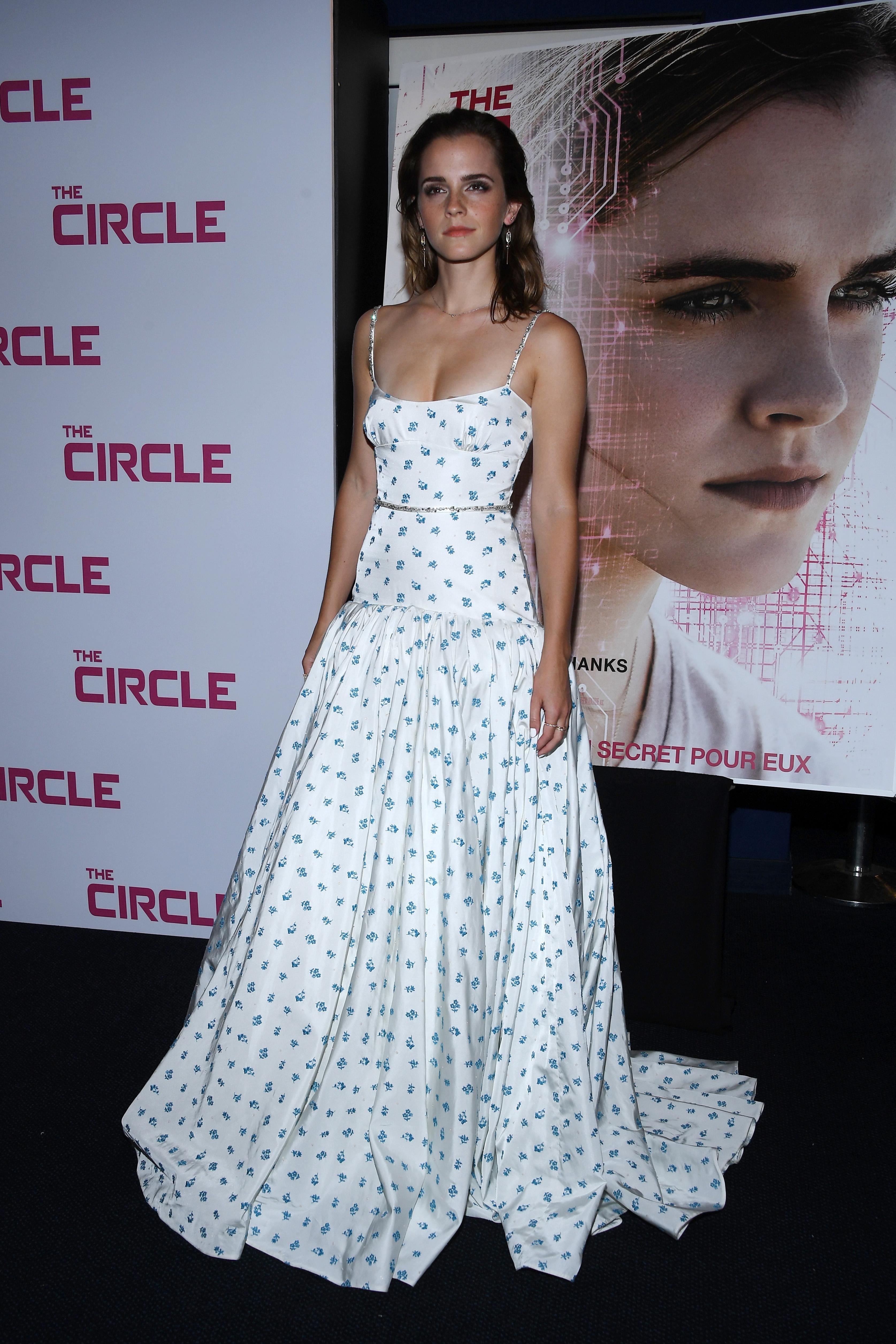 Emma Watson, look, style, estilo, paris, the circle