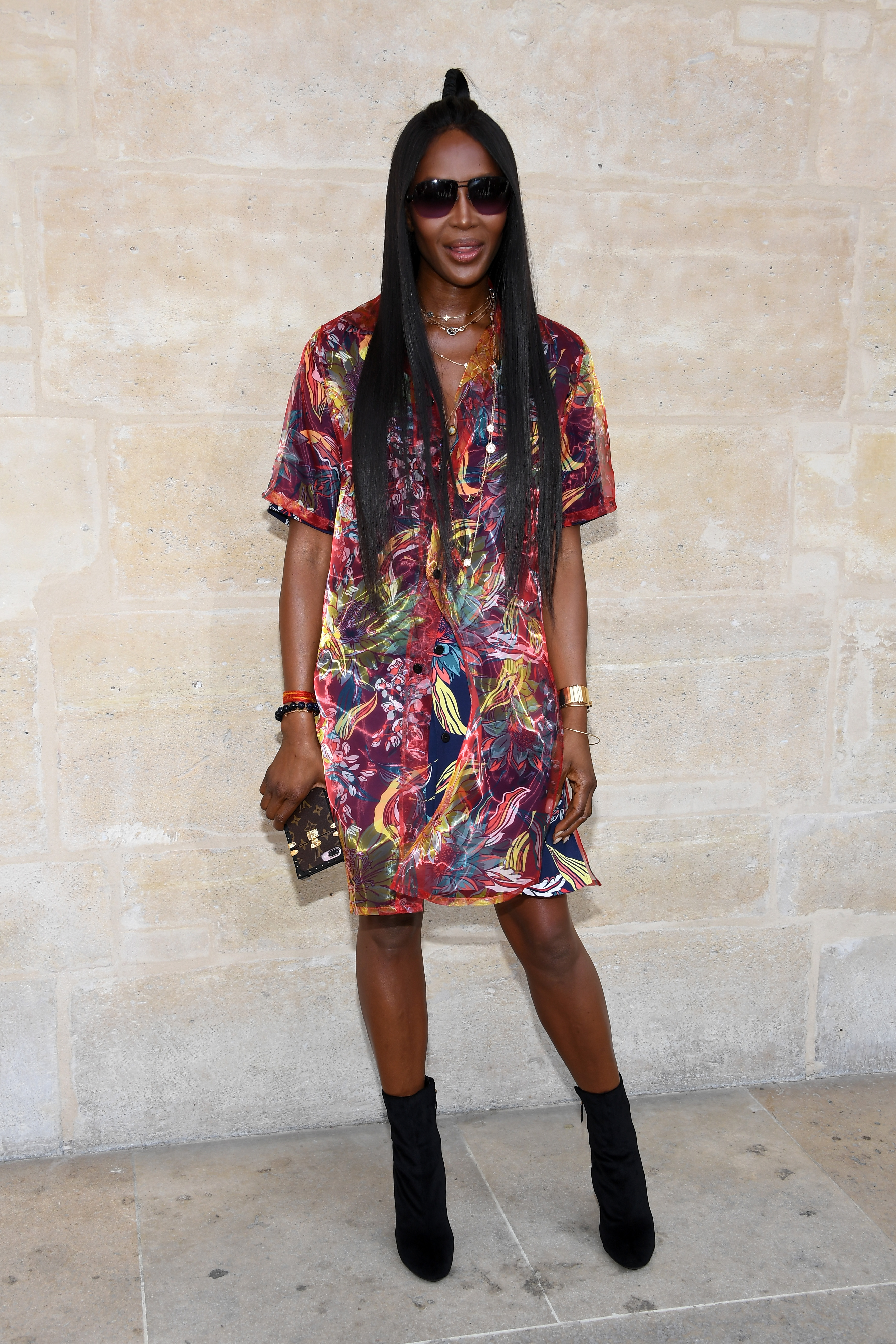 Naomi Campbell, look, style