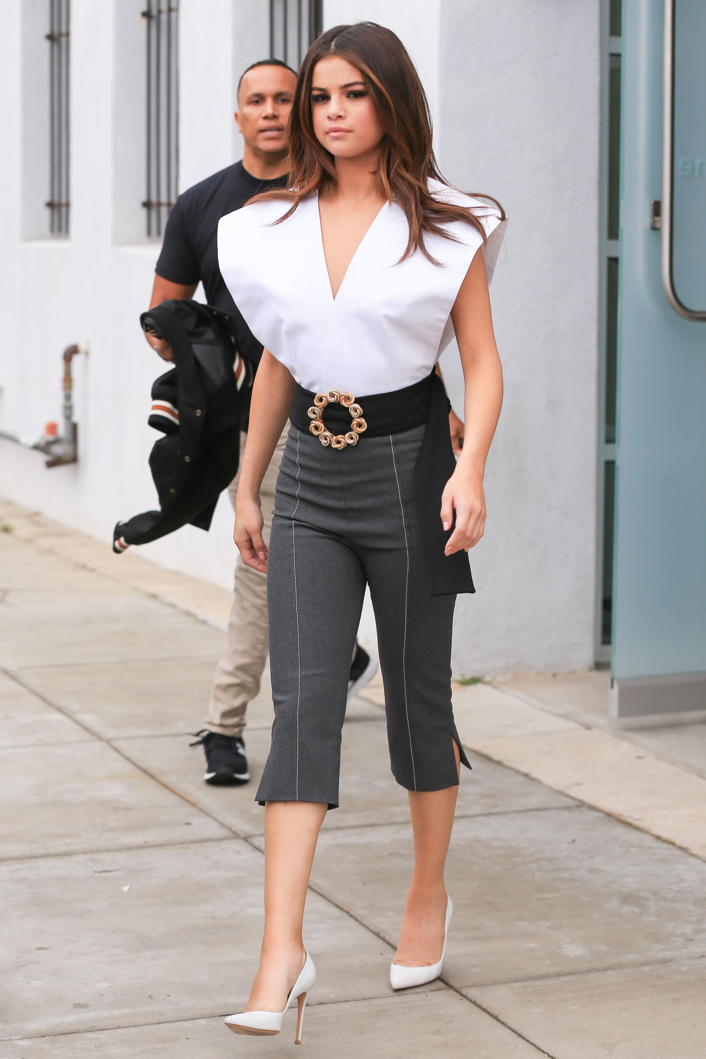 Selena gomez, look, style, estilo,
