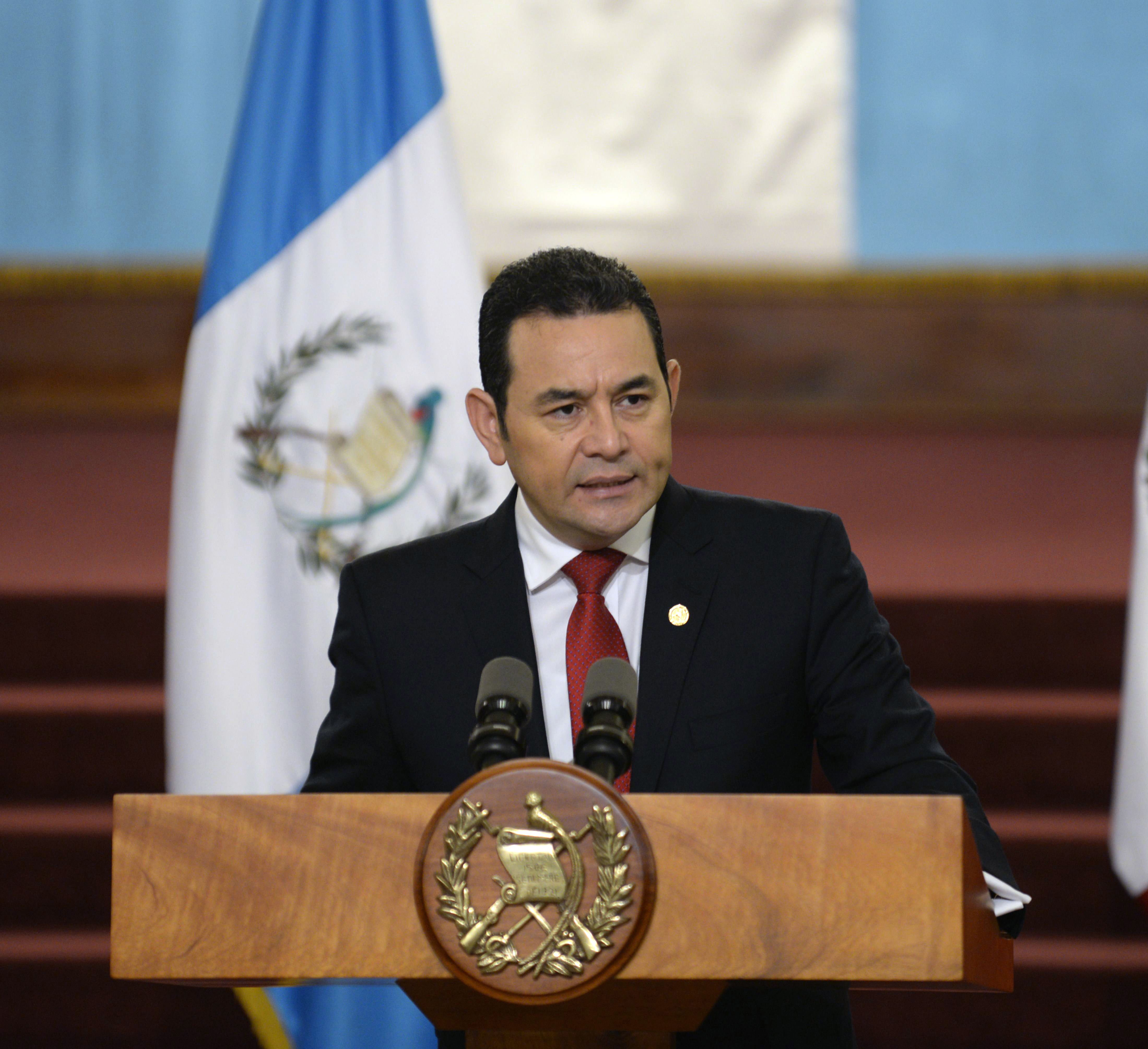 Jimmy Morales, Guatemala
