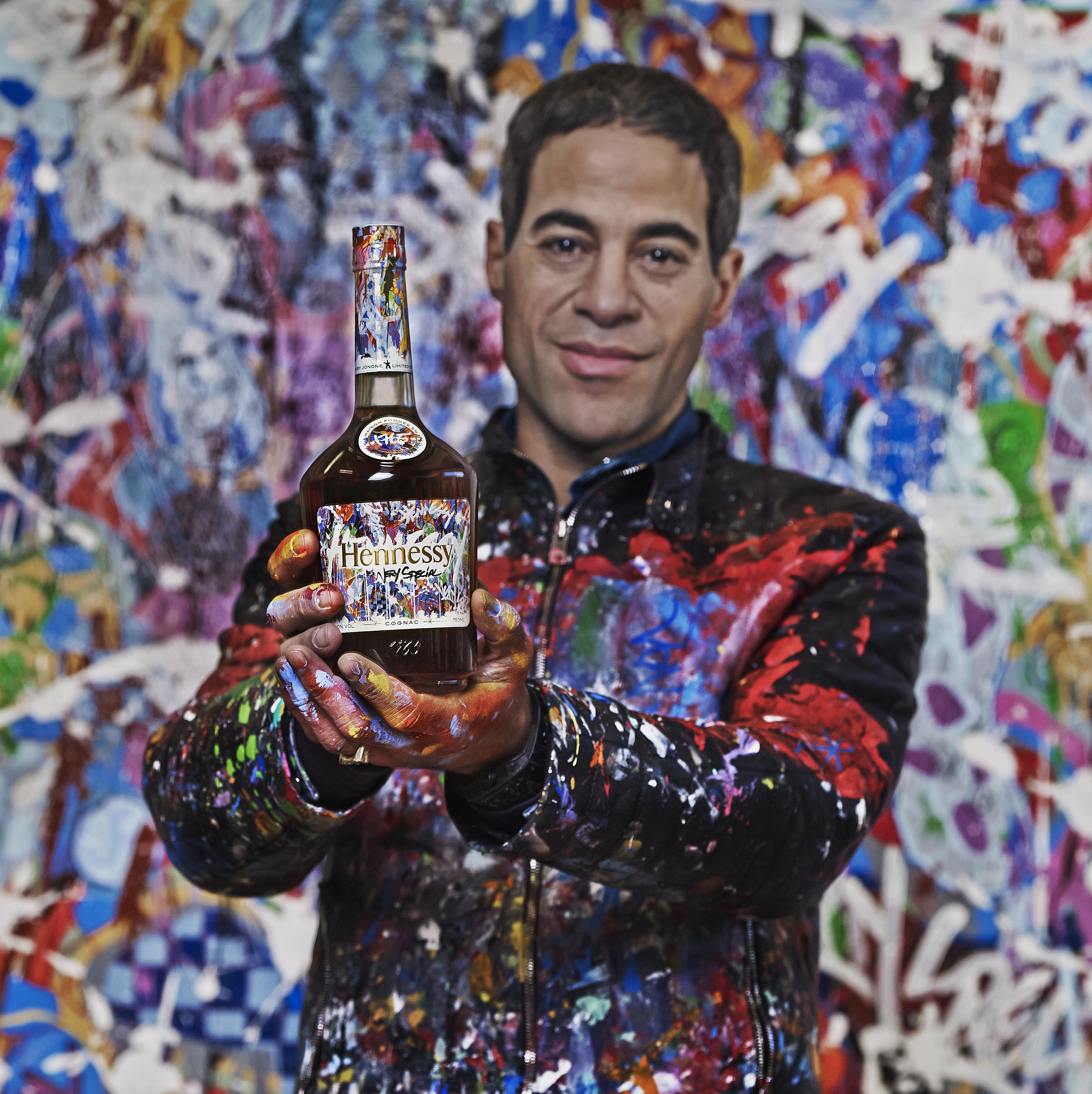 Hennessy, edicion limitada, botella, JonOne
