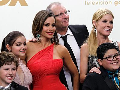 El elenco de Modern Family en los Emmy