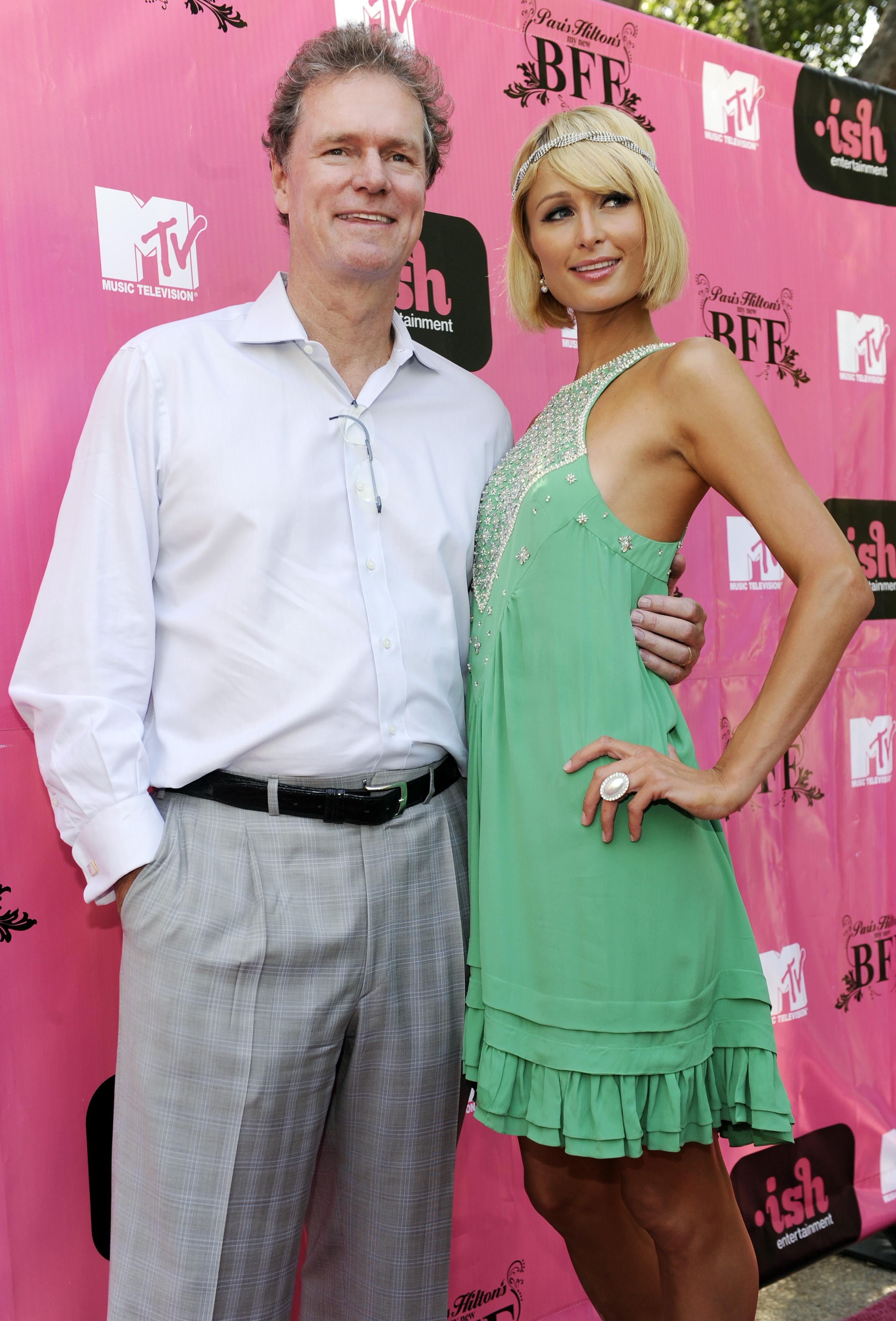 Paris Hilton, Rick Hilton