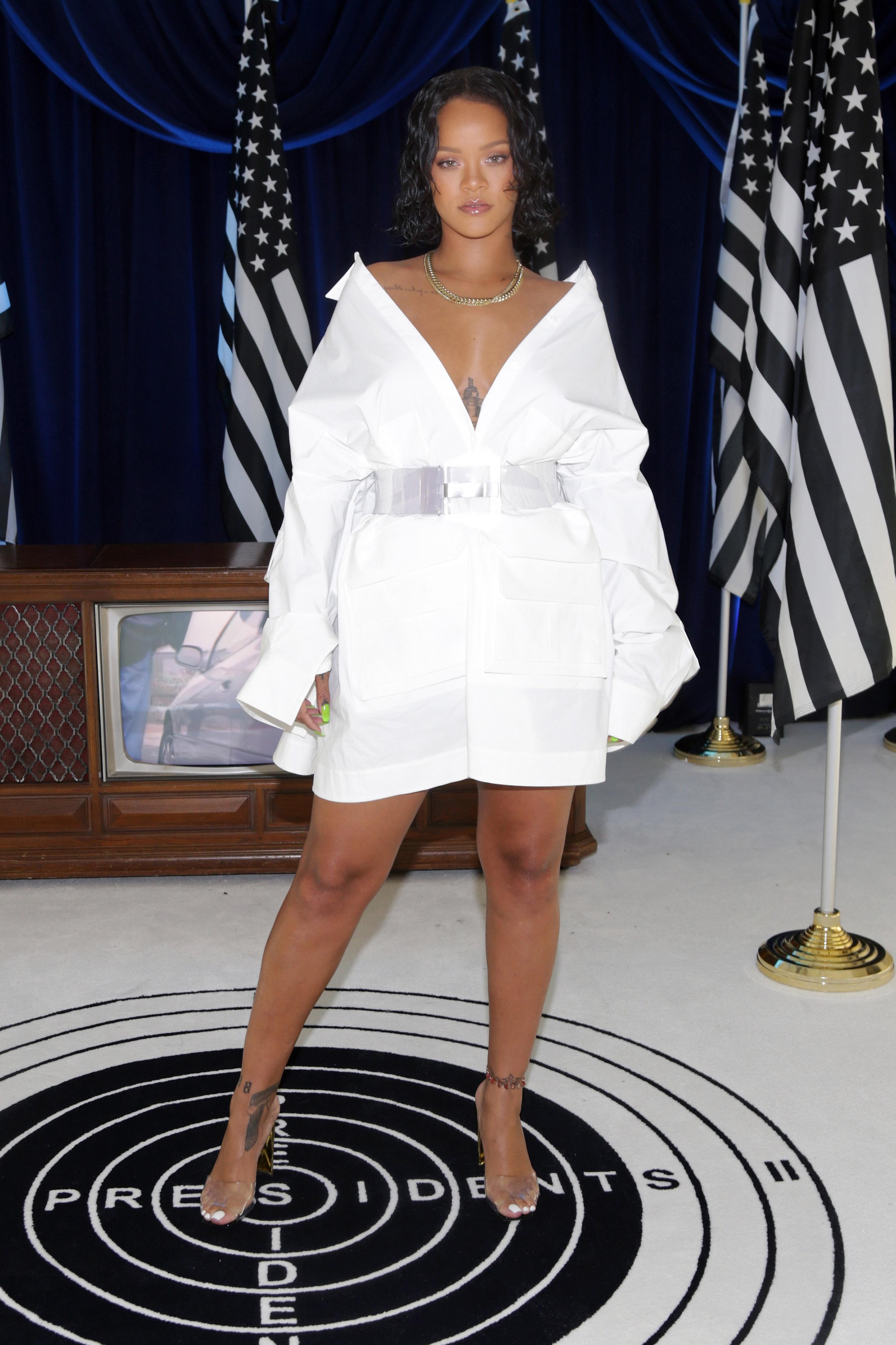 Rihanna, look, style