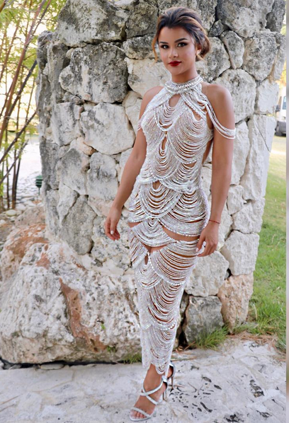 Clarissa Molina, premios heat, giannina azar, estilo, look