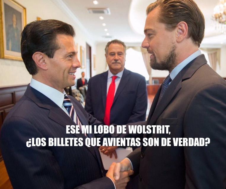 Memes Leonardo DiCaprio Enrique Peña Nieto