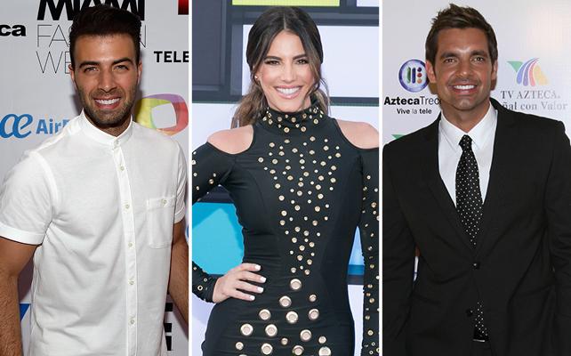Jencarlos Canela, Gaby Espino y Cristóbal Lander