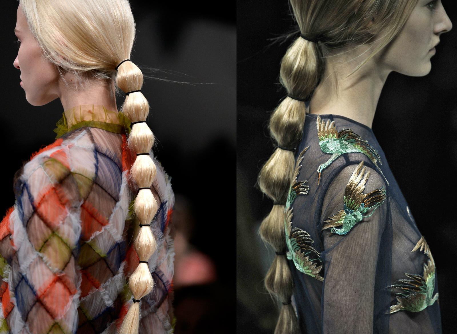 valentino, ponytail, coleta, peinado