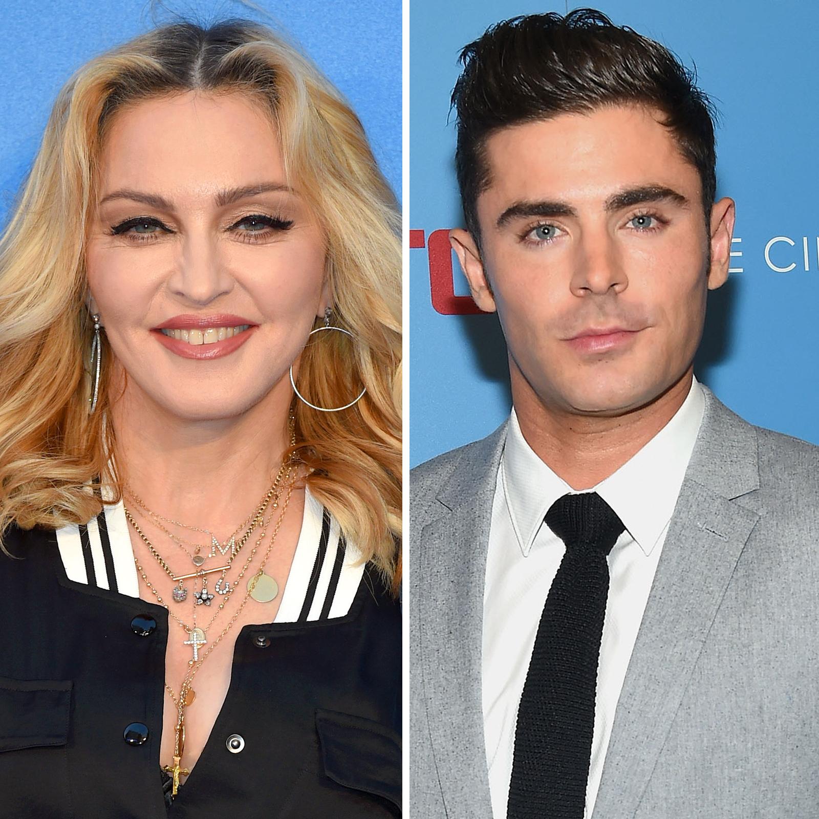 Madonna y Zac Efron