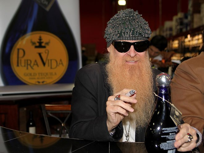 Billy Gibbons, tequila