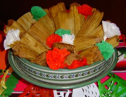Tamales de frijoles