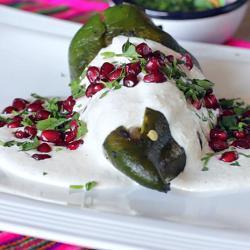 Los mejores chiles en nogada del mundo