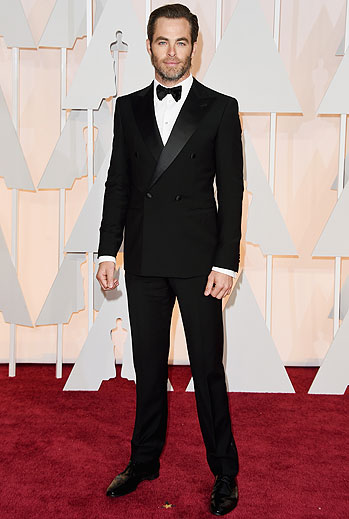 Chris Pine, Oscars 2015