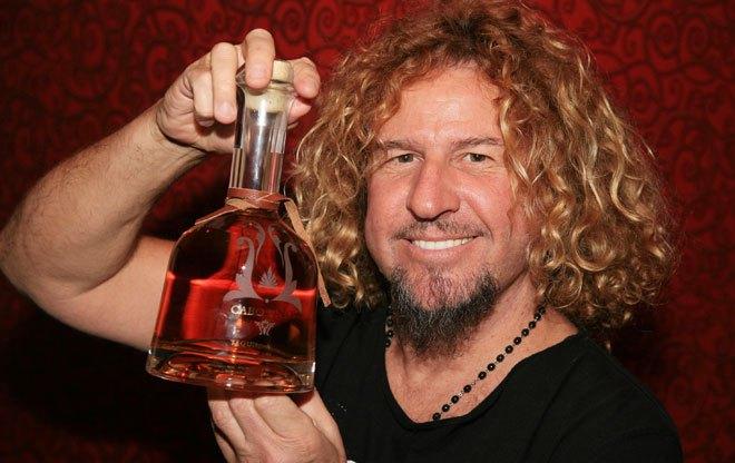 Sammy Hagar, tequila