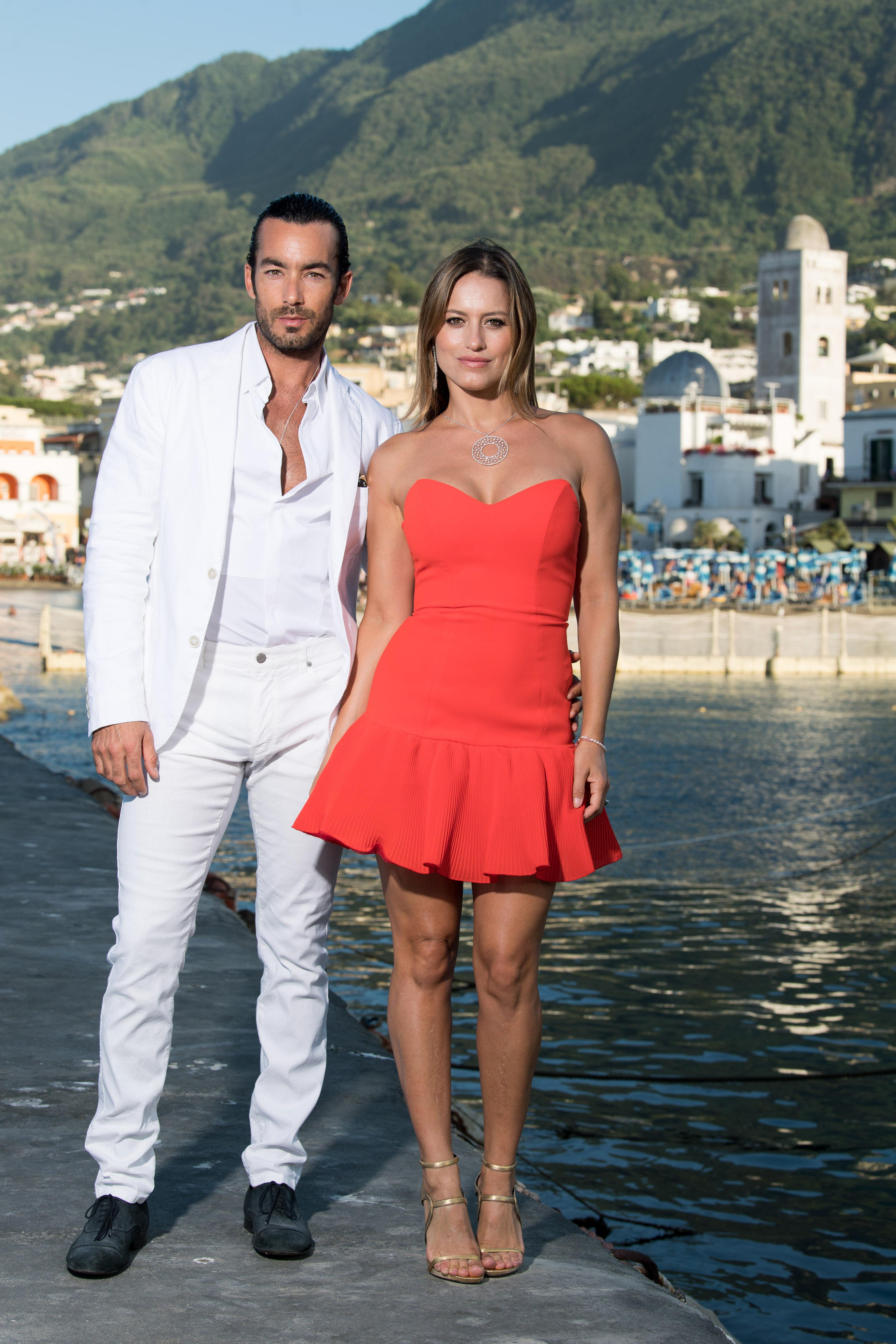 Aaron Diaz y Lola Ponce
