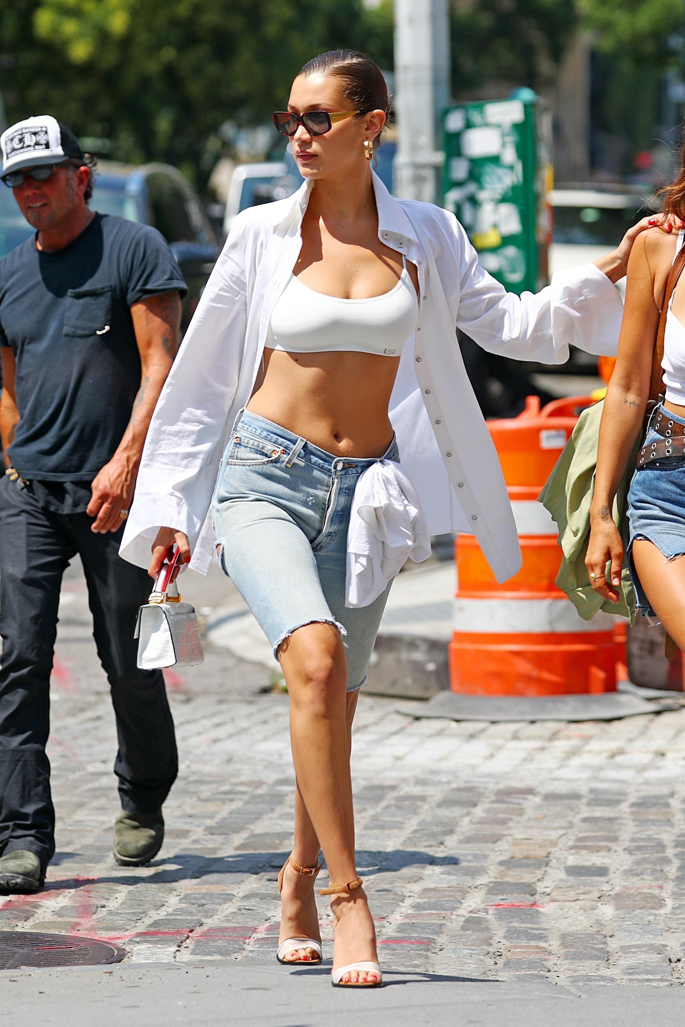 Bella Hadid, looks, estilo, style, new york