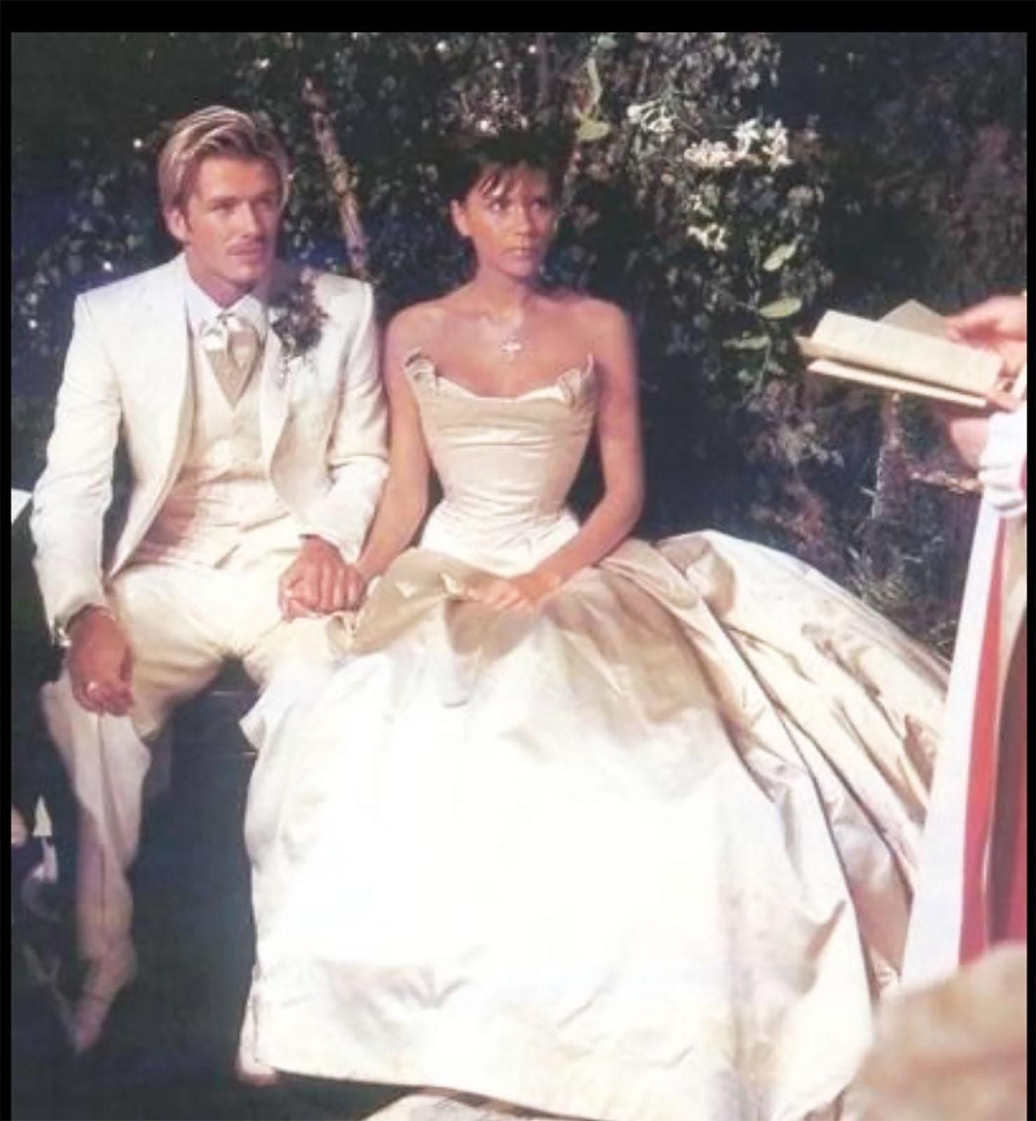 David y Victoria Beckham boda