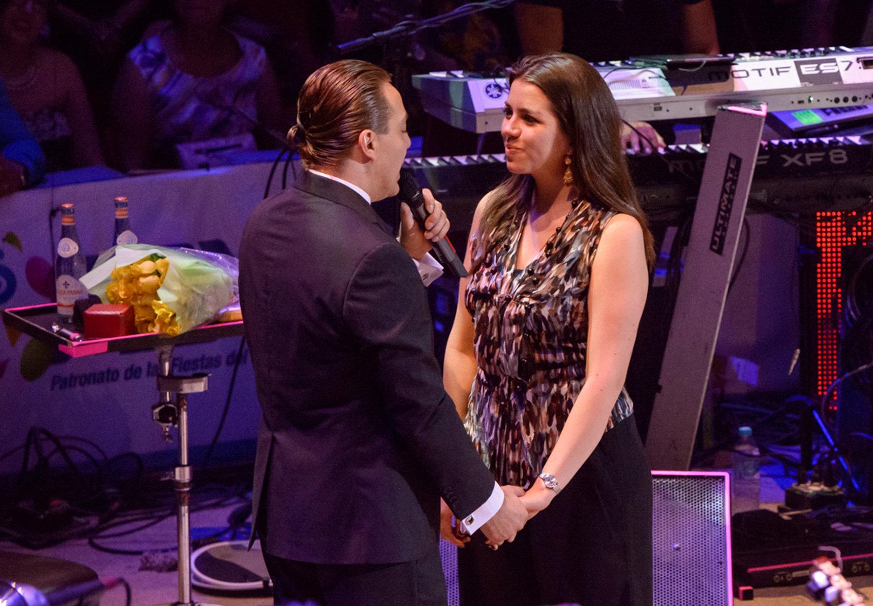 Cristian Castro y Carol Victoria Urbán