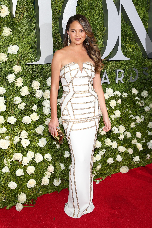 Chrissy Teigen  - 2017 Tony Awards - Red Carpet