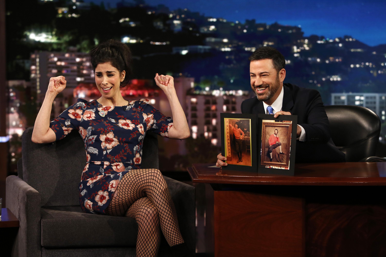 Sarah Silverman y Jimmy Kimmel