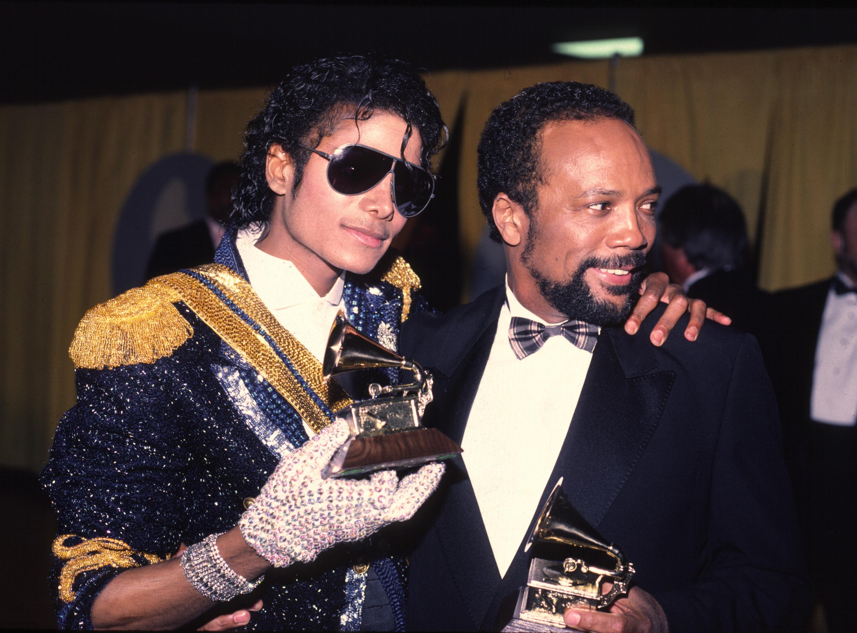 Michael Jackson y Quincy Jones