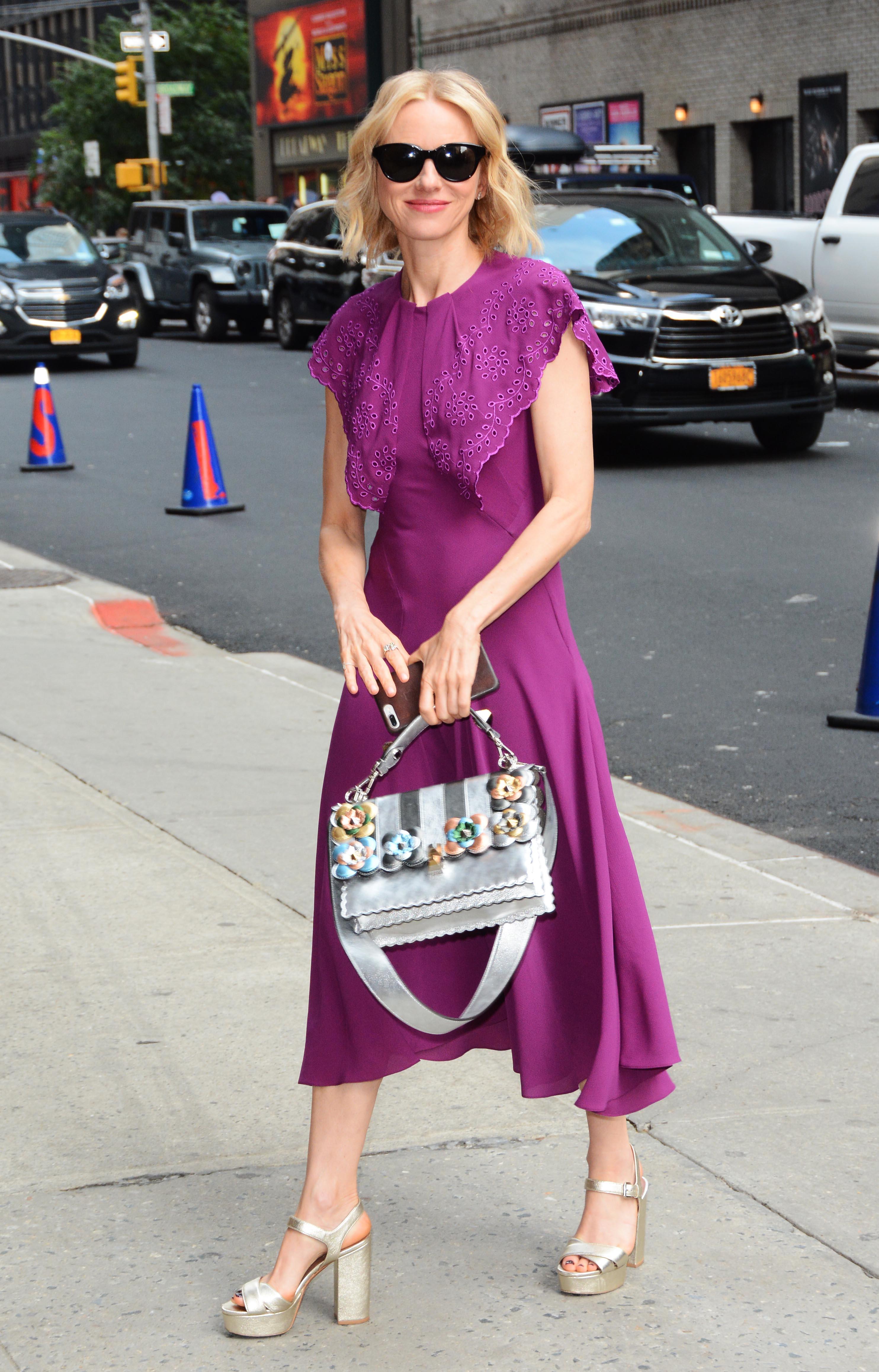 Celebrity Sightings In New York City - June 29, 2017