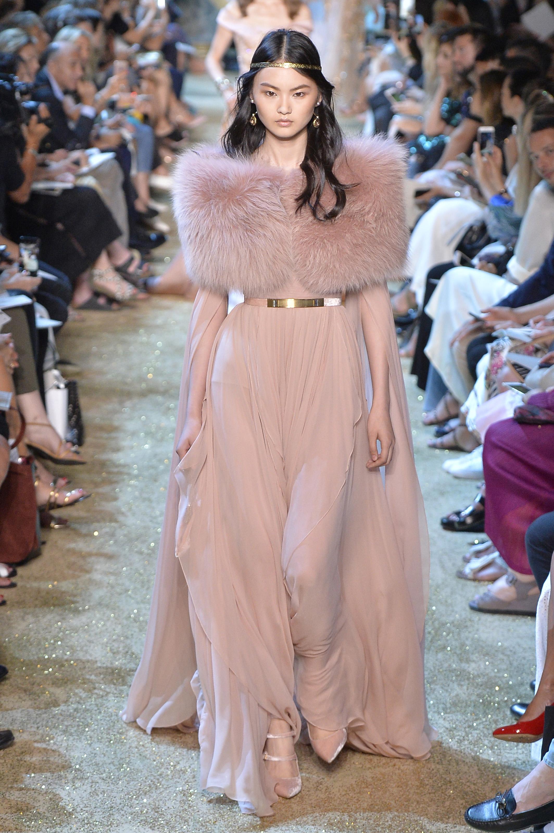 Elie Saab - Couture Fall 2017 Runway - Paris Haute Couture Fashion Week