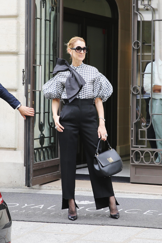Celine Dion, looks, estilo, style, paris