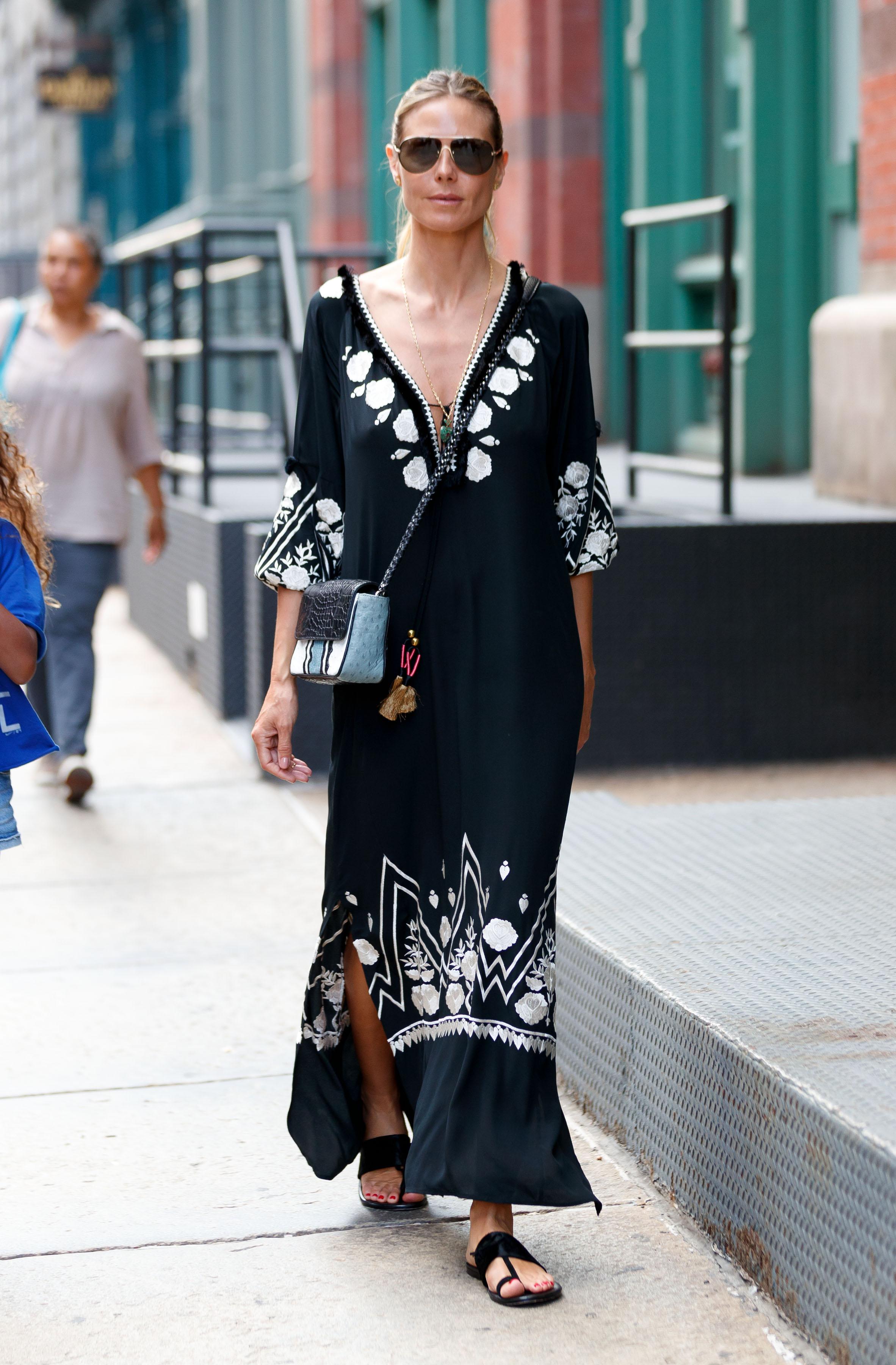 Heidi Klum, looks, estilo, style, new york