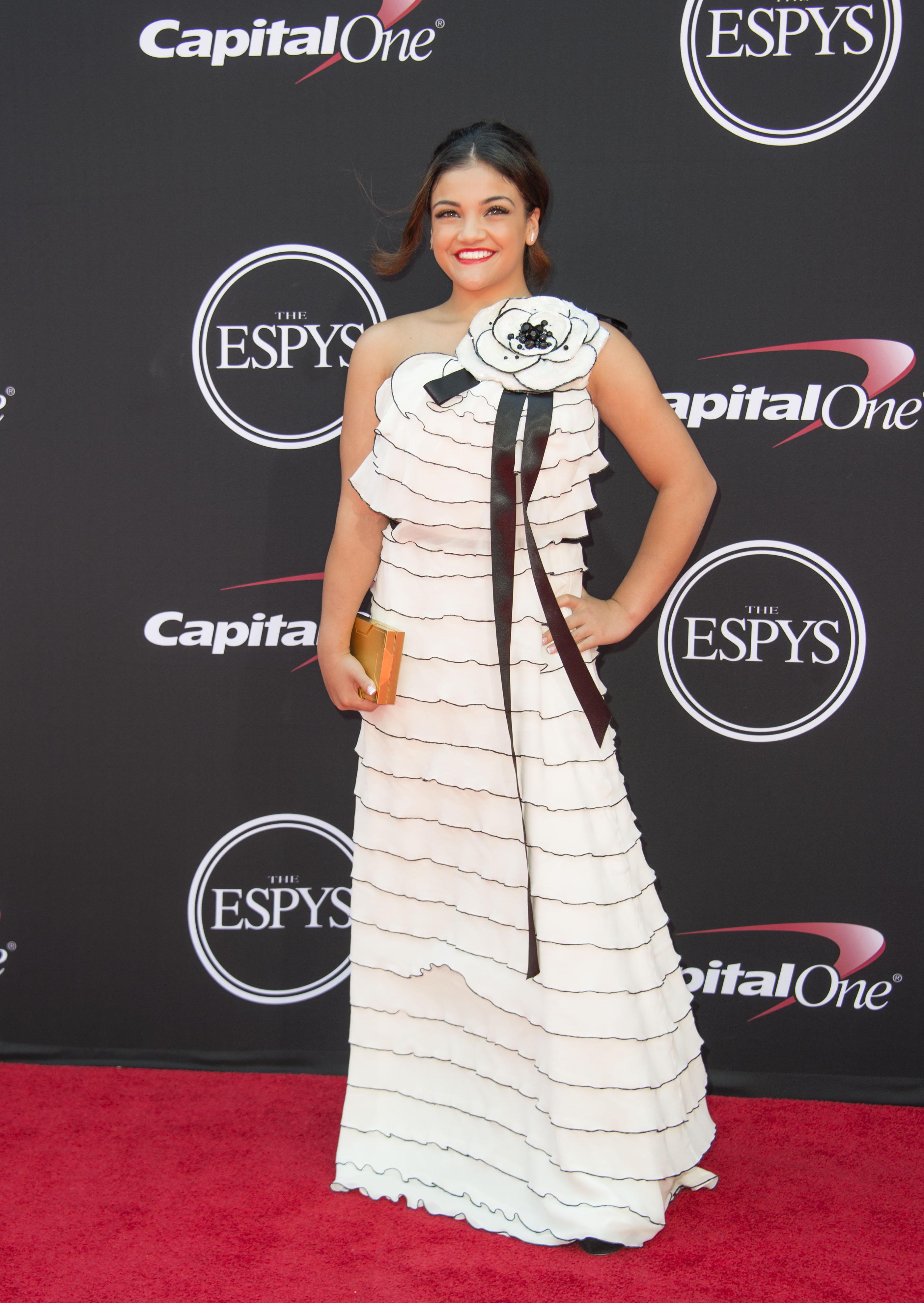 Laurie Hernandez, look, espn awards