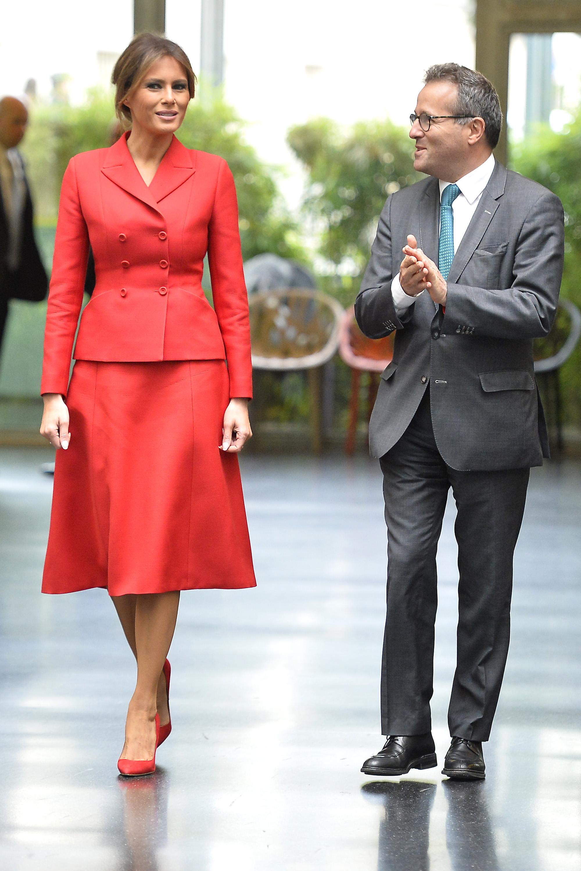 Melania Trump, looks, estilo, paris
