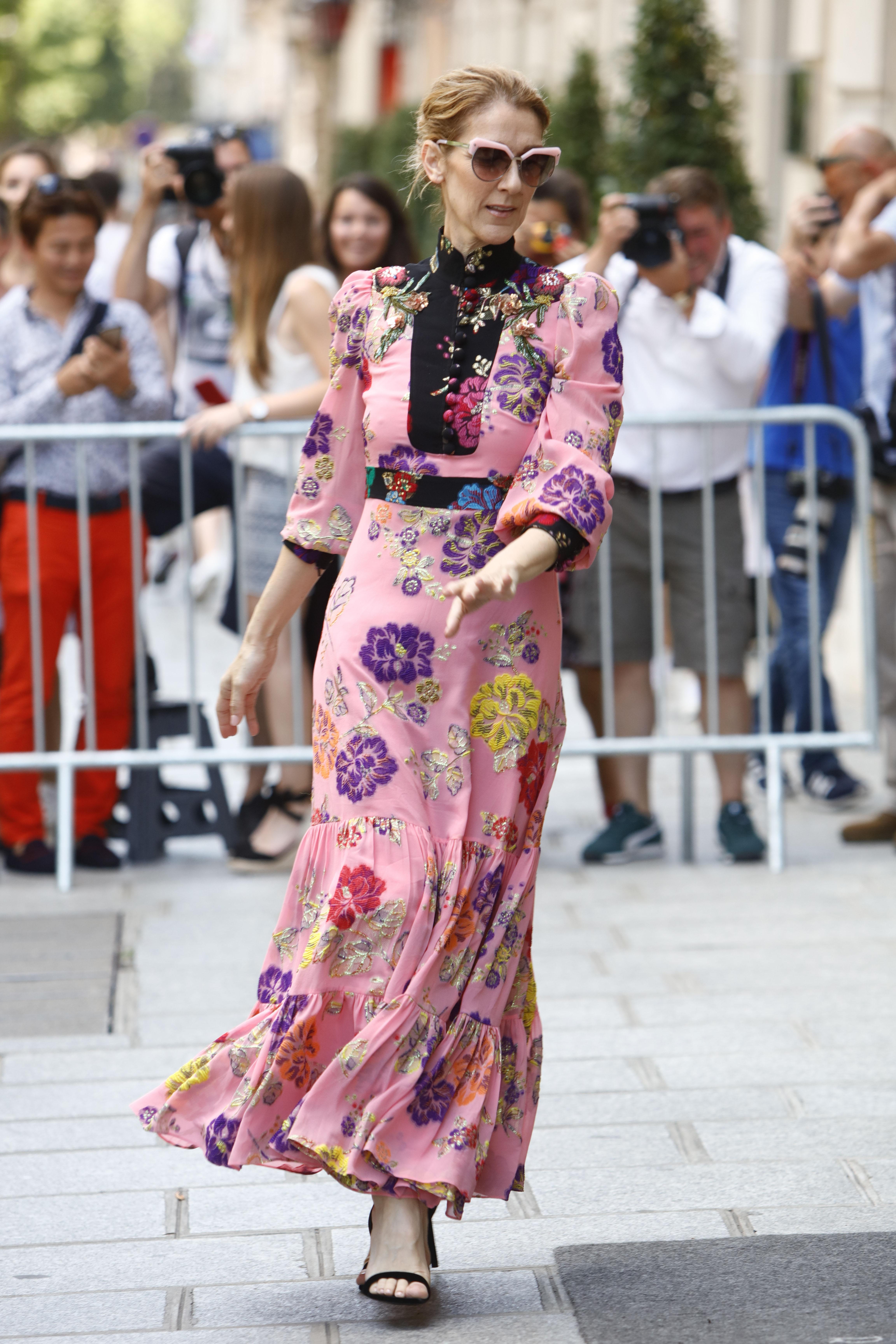 Celine Dion, looks, paris, estilo, style, gucci