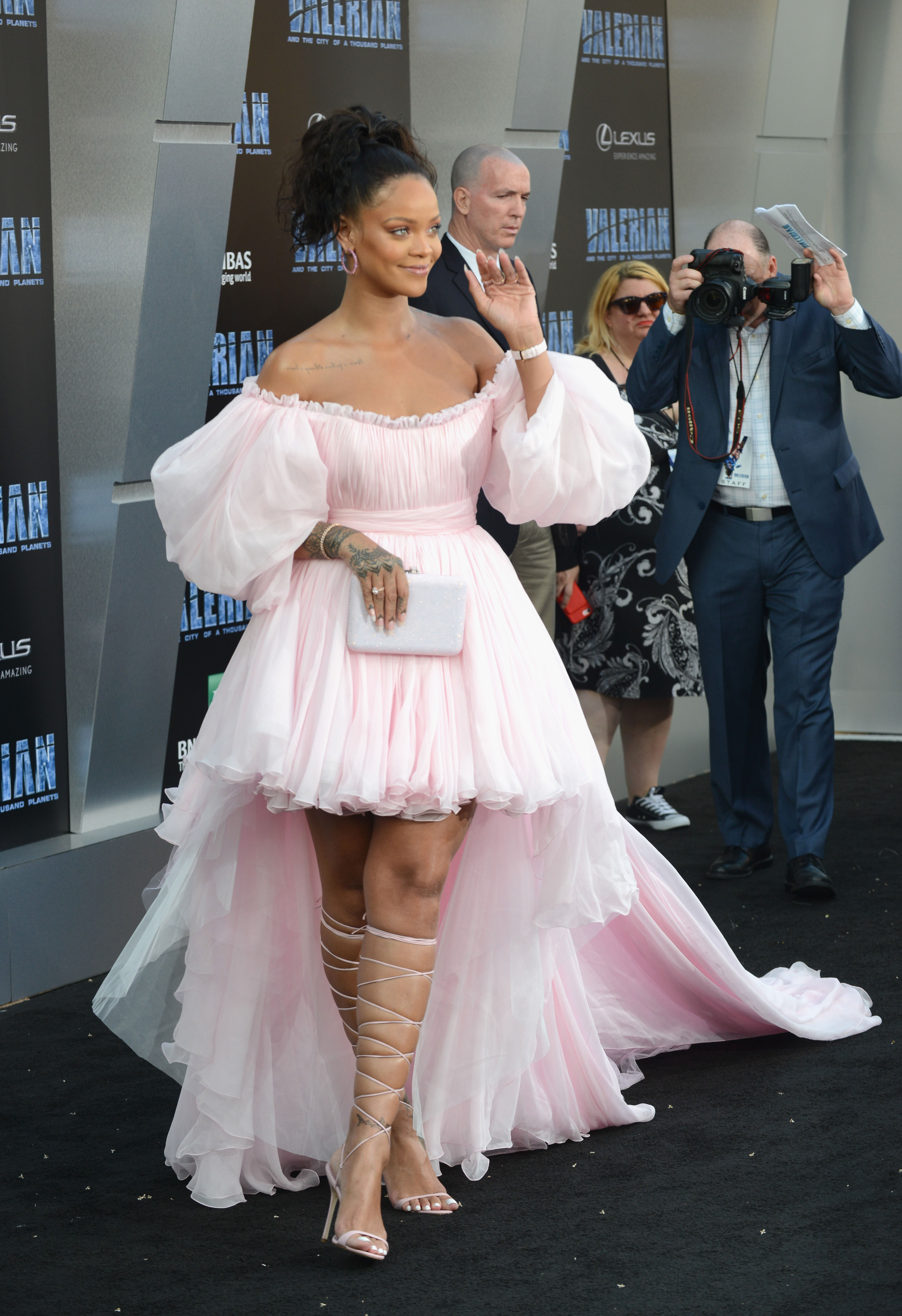 Rihanna, looks, premier, pelicula, tul, style, estilo
