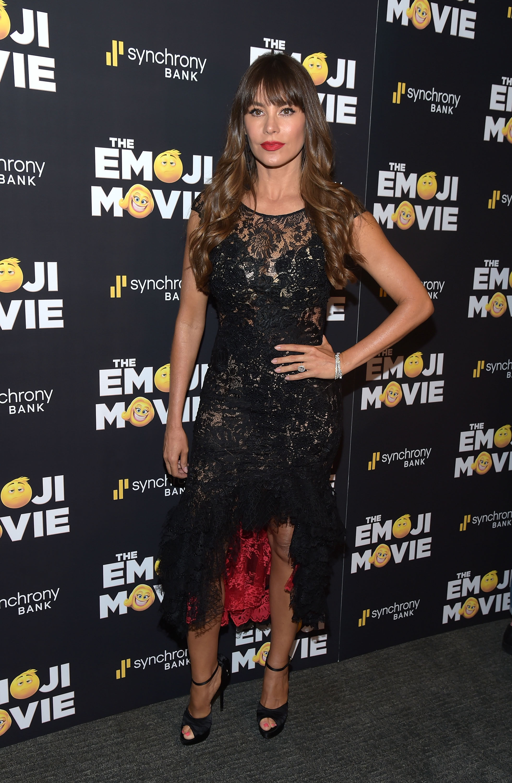 Sofia Vergara, looks, estilo, moda, style, emoji movie