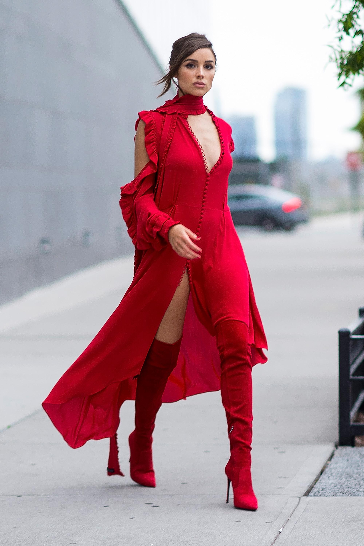 Olivia Culpo, looks, estilo, style, new york