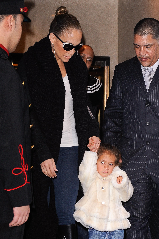 Jennifer Lopez y Emme Maribel Muniz
