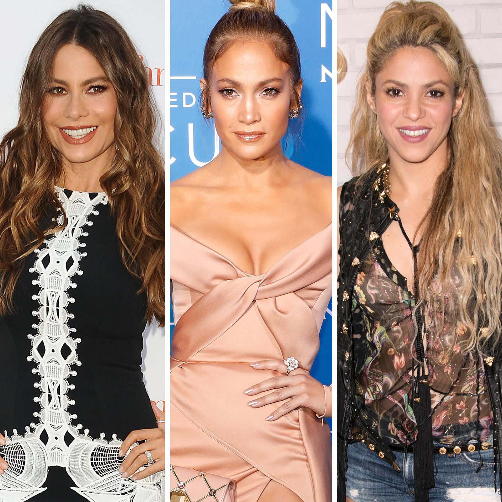 Sofia Vergara, Jennifer Lopez y Shakira