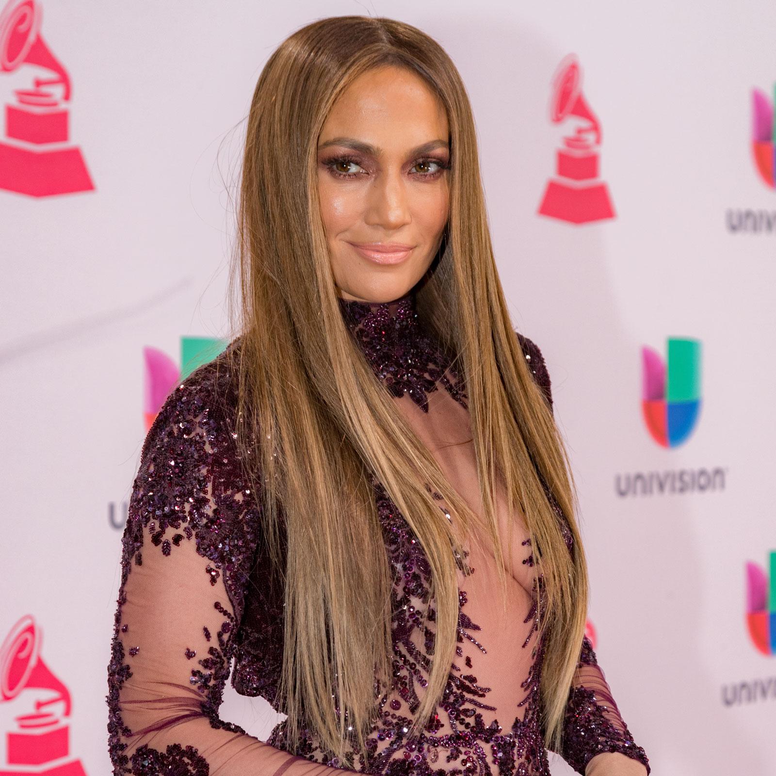 Jennifer López en los Latin Grammy