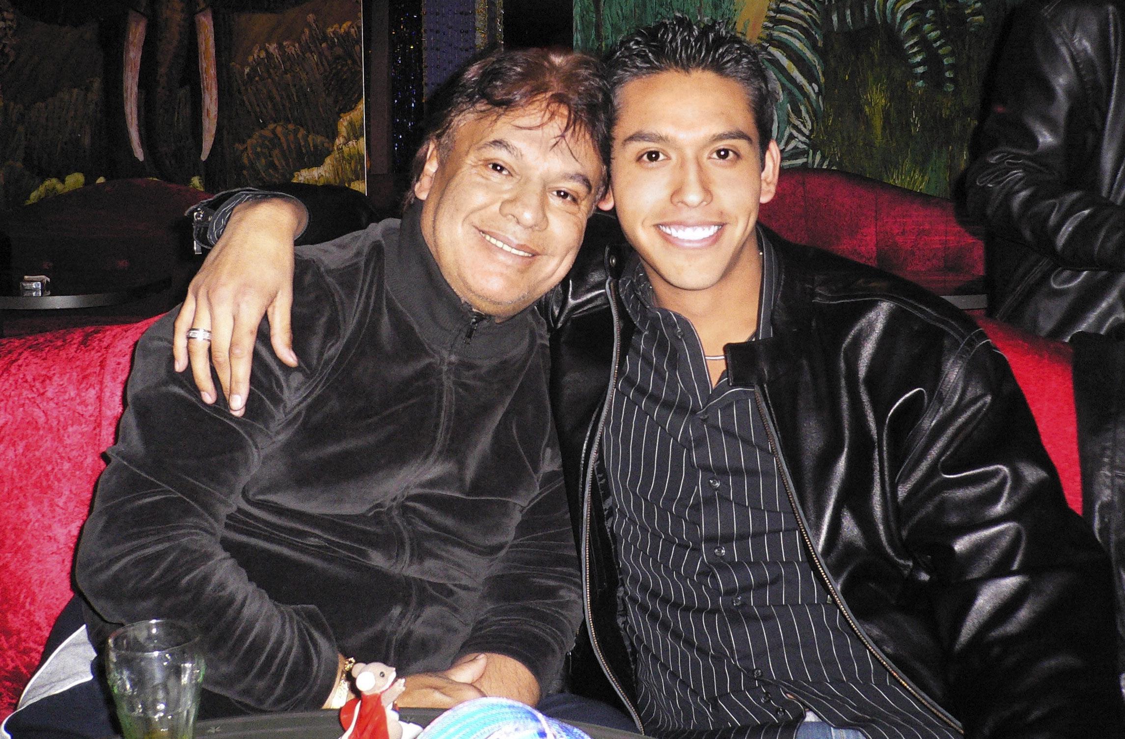 Juan Gabriel y Ivan Aguilera