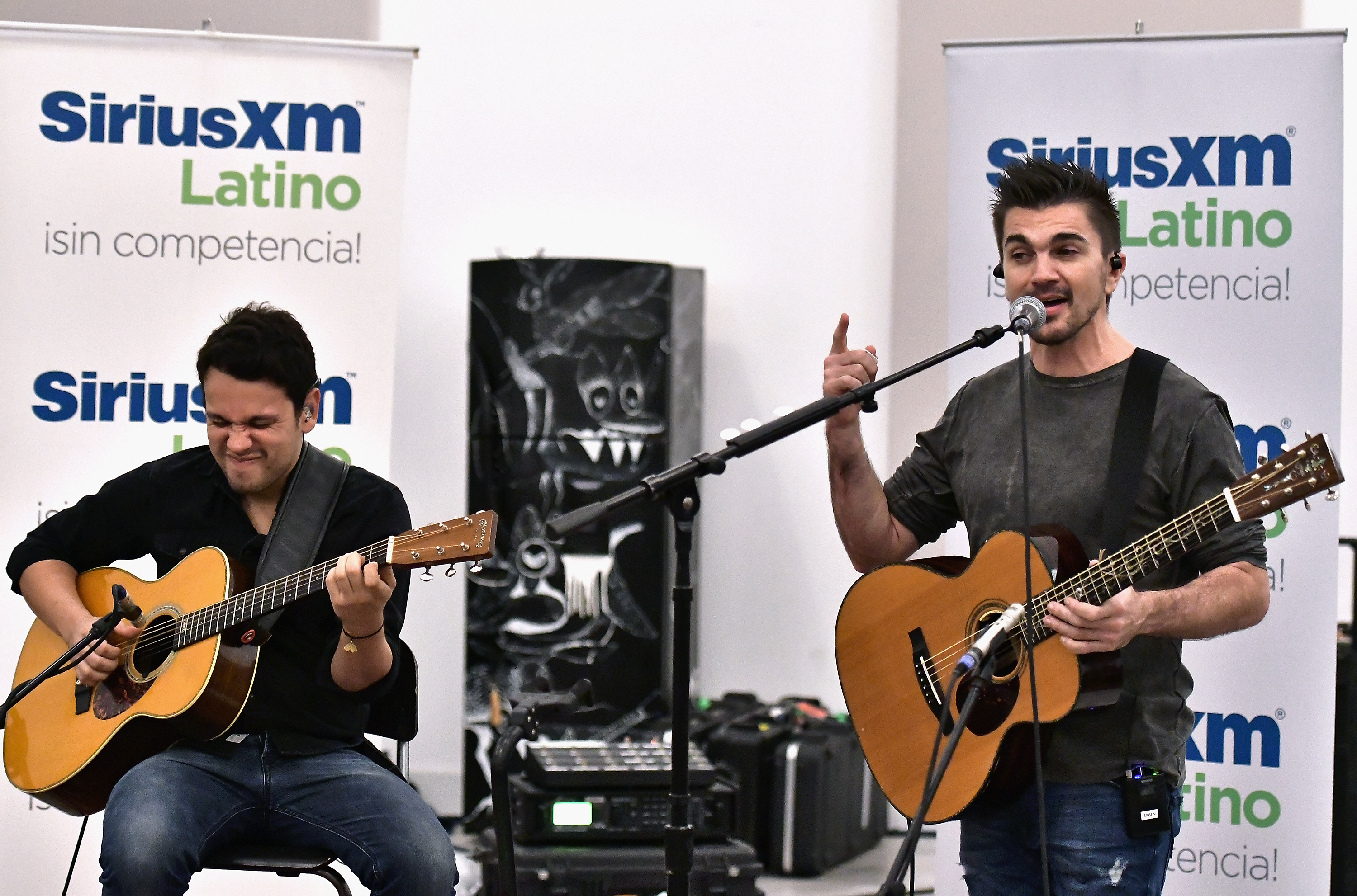 Juanes Performs For SiriusXM's Artist Confidential Series At The Artist's Qwn Studios On July 25, 2017 In Doral, FL