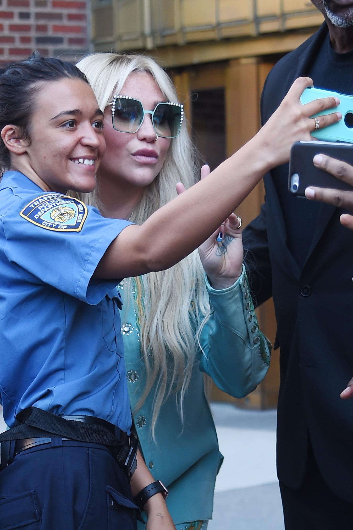 BuzzFoto Celebrity Sightings In New York Ð  July 18, 2017